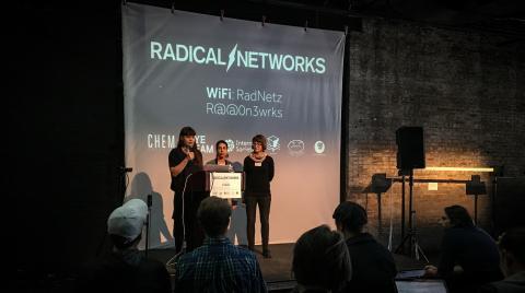 Foto: Radical Networks (Sarah Grant, Erica Kermani, Amelia Marzec)
